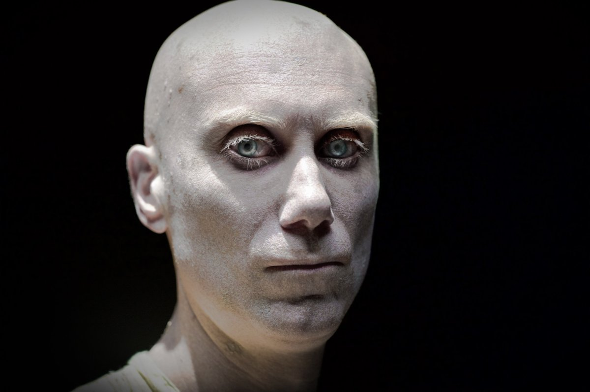 First Look at Stephen Merchant as Caliban in 'Logan'