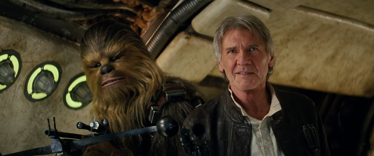 'Star Wars: The Force Awakens' Chewbacca Deleted SceneReleased