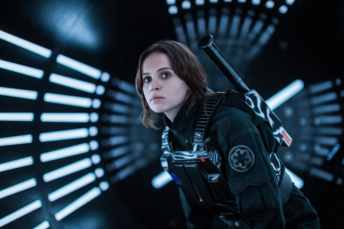Felicity Jones on 'Rogue One' Reshoots