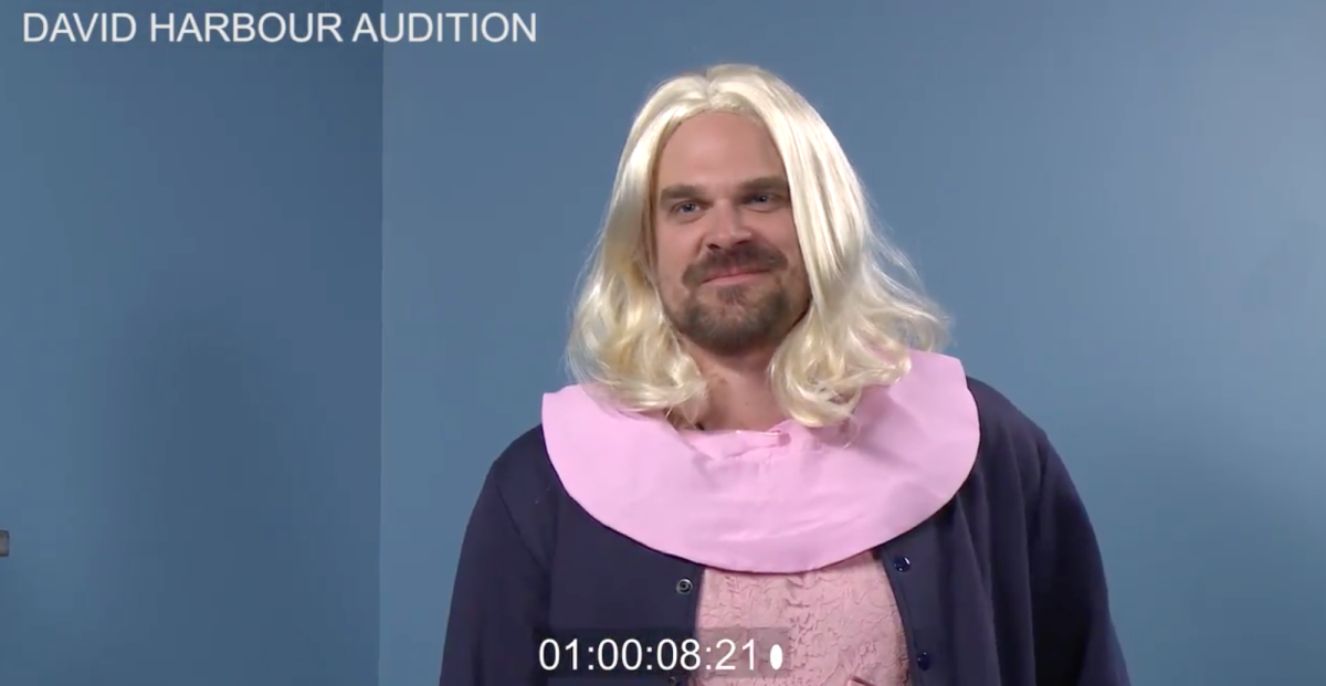 David Harbour Auditions For Eleven