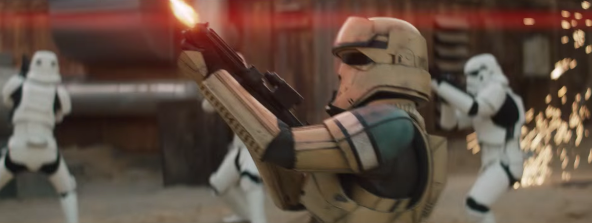'Rogue One' Shoretroopers on Display in New DuracellAd