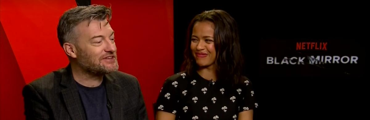 "'Black Mirror': Charlie Brooker and Gugu Mbatha-Raw Talk ""SanJunipero"""