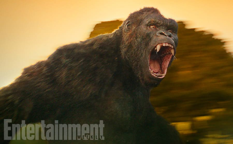 First Look at King Kong in 'Kong: Skull Island'