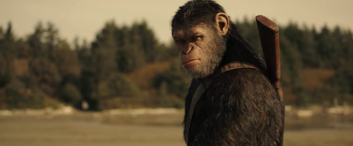 'War for the Planet of the Apes' Official Trailer #1