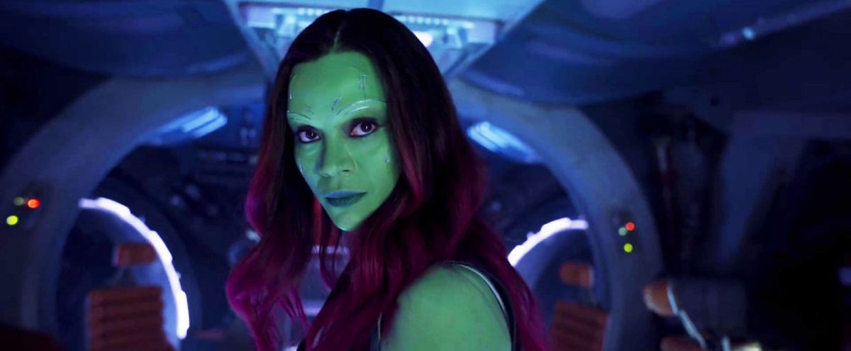 Gamora Confirmed to Appear in 'Avengers: Infinity War'