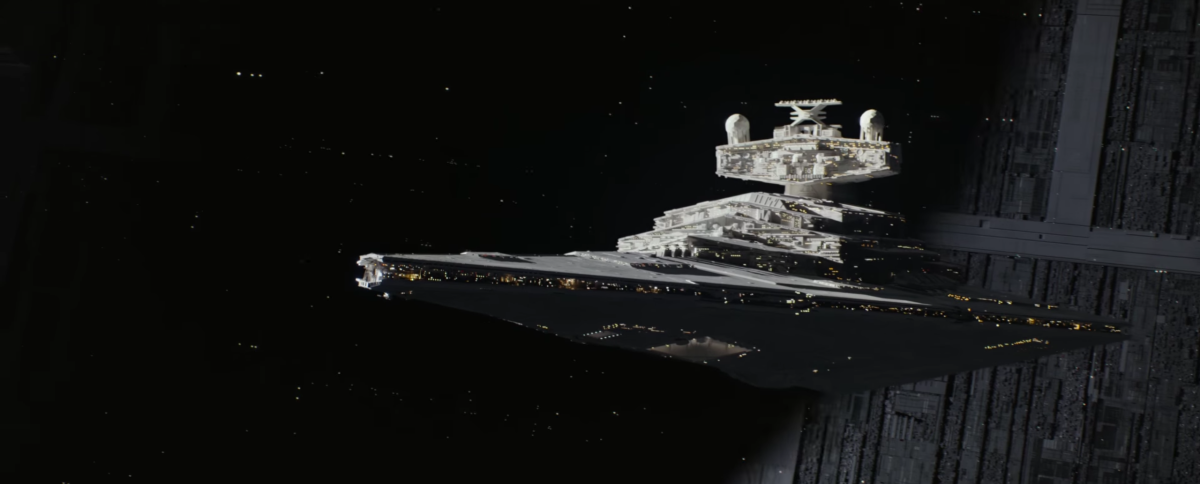 'Rogue One' Model Effects Supervisor Explains How They Rebuilt The Models From 'Star Wars'