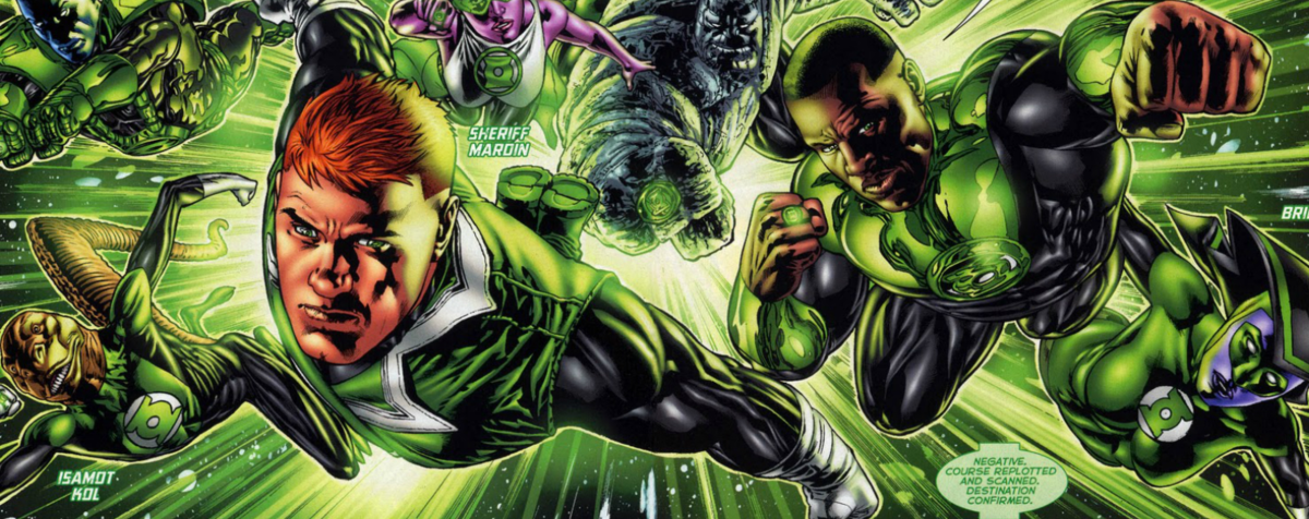 WB Taps David S. Goyer and Justin Rhodes to Write 'Green LanternCorps'